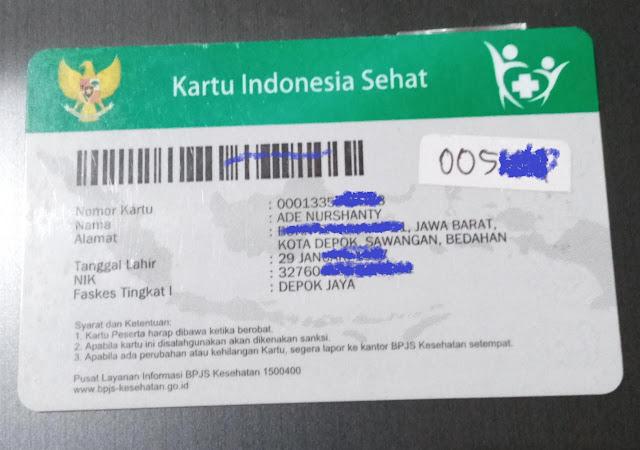 kartu KIS daftar online pueskesmas di Depok