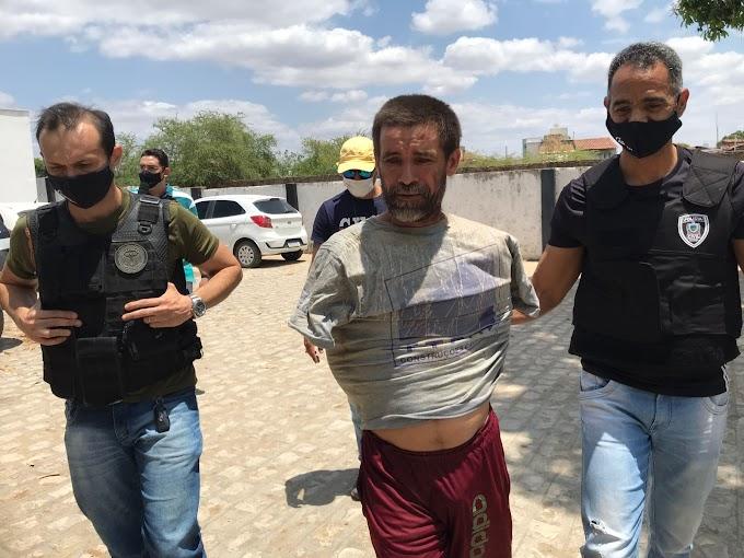 Homem é preso suspeito de tentar abusar sexualmente de duas crianças no distrito de Boqueirão município de Cajazeiras