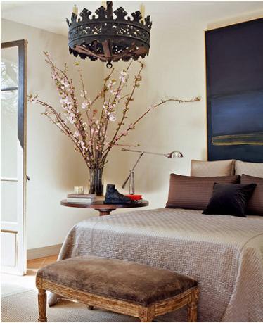 Boiserie c camere da letto 45 idee per ricreare lo stile shabby chic - Camera da letto con boiserie ...