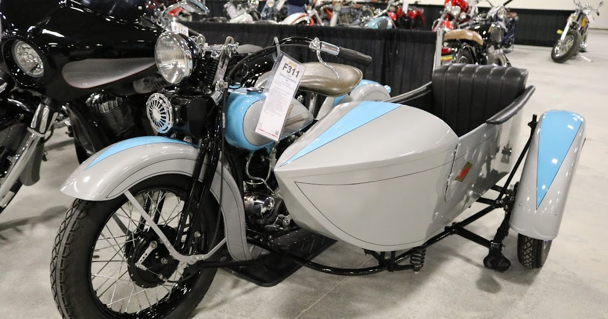 Barber Motorcycle Museum >> OldMotoDude: 1934 Harley-Davidson RL with Sidecar sold for