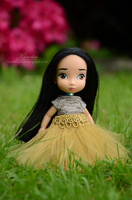 Handmade tulle tutu for doll