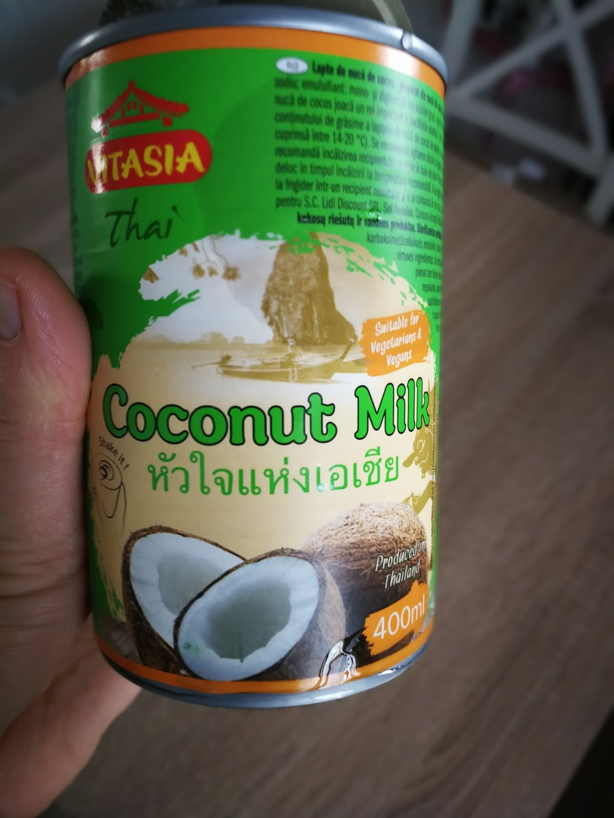 Lapte de cocos lidl