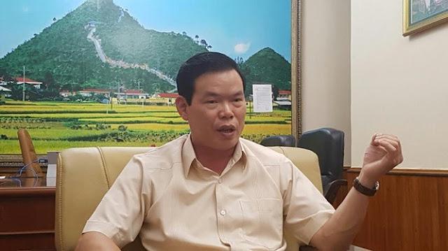 Bí thư Tỉnh ủy Hà Giang Triệu Tài Vinh