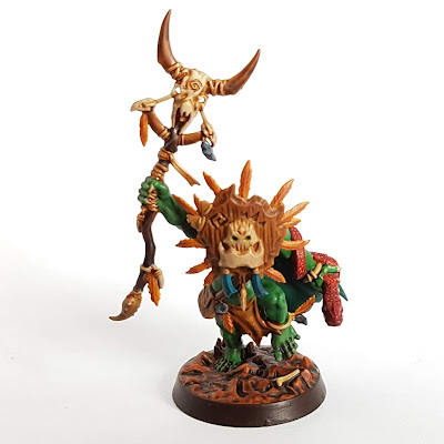 Hedkrakka, Gob of Gork - Hedkrakka's Madmob - Orruk Bonesplittas for Warhammer Underworlds
