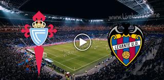 مشاهدة مباراة ليفانتي وسيلتا فيغو بث مباشر بتاريخ 26-10-2020 في الدوري الاسباني