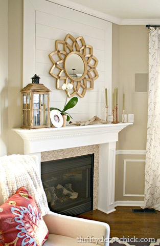 Updating corner fireplace