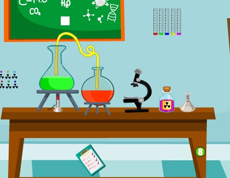 AjazGames Chemical Properties Escape Walkthrough