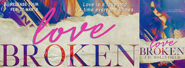[Tour] LOVE BROKEN by JD Hollyfield @jdhollyfield @EJBookRomos #Review #TheUnratedBokshelf