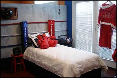 boxing theme bedrooms