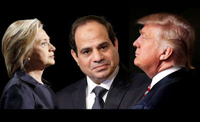 Elsisi Clinton and Trump