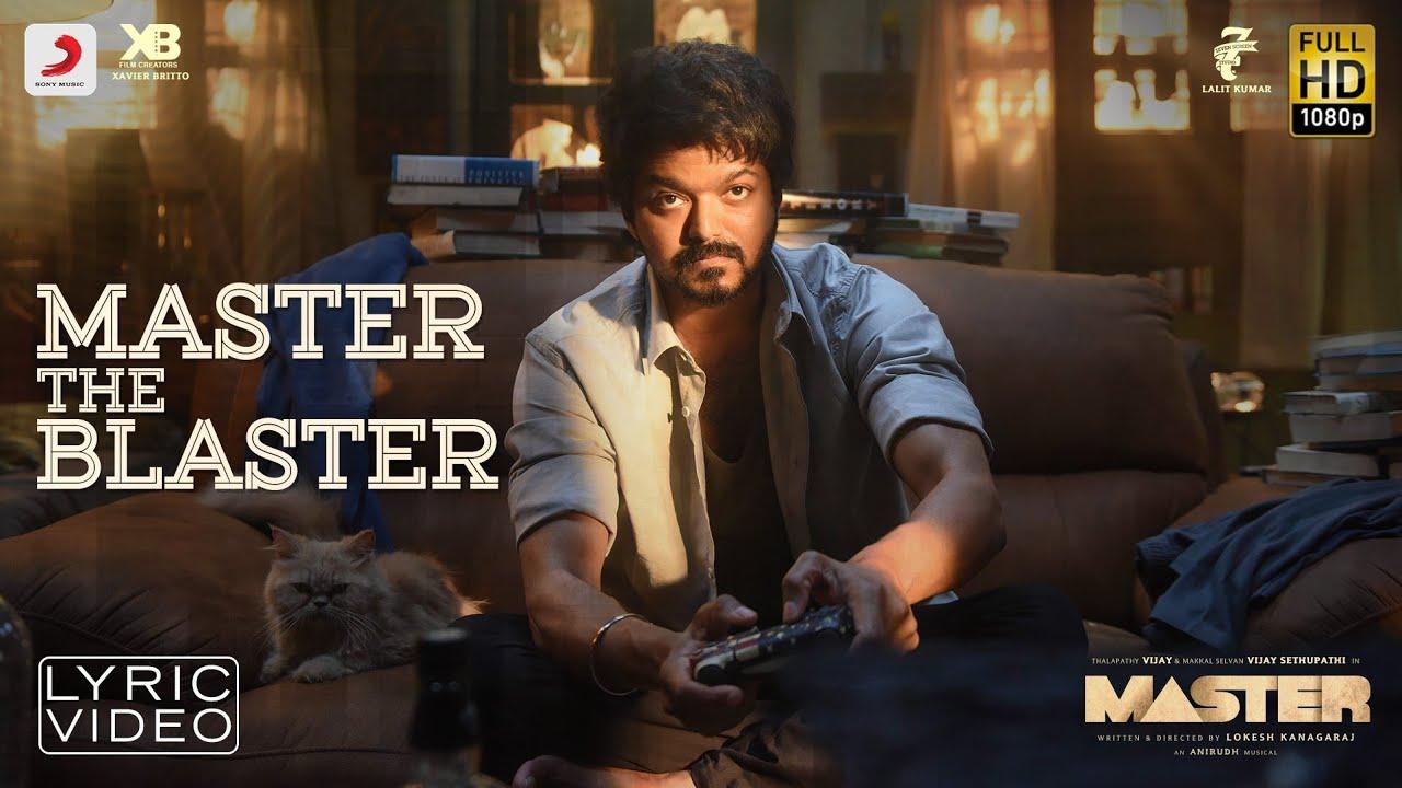 Master The Blaster Lyrics Master Tamil Movie