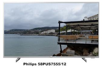 Philips 58PUS7555/12 TV specs