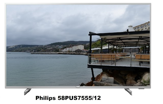 Philips 58PUS7555/12 TV specifications