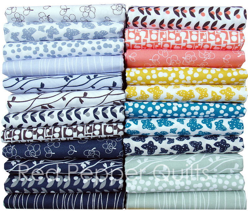 Lilla by Lotta Jansdotter for Windham Fabrics | © Red Pepper Quilts 2017