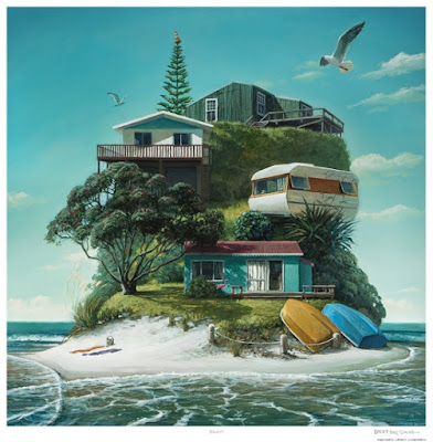Baches Print by Barry Ross Smith
