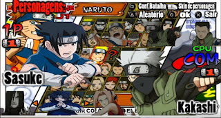 New Naruto Ultimate Ninja Heroes 2  [MOD] Para Android E Pc [PPSSPP]