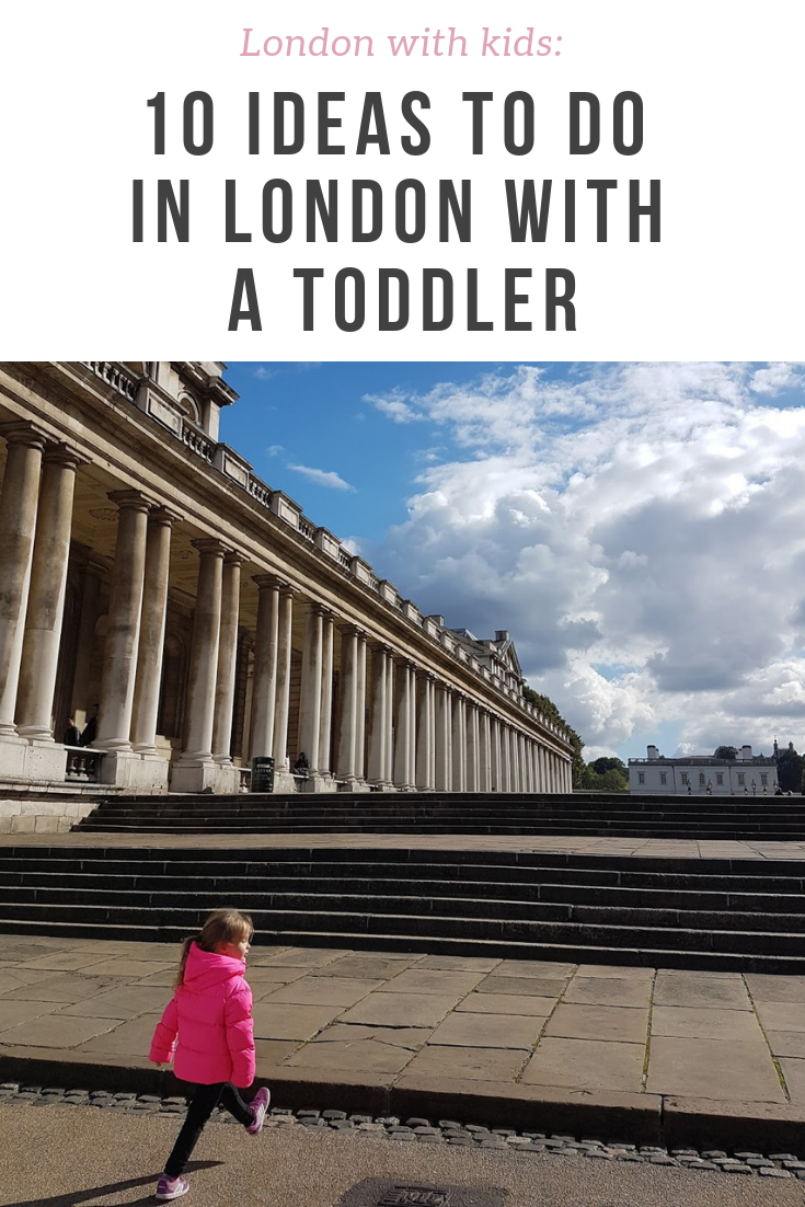 The top 10 things to do with a toddler in London - from outside parks to rainy-day attractions, all suitable for the little ones!
