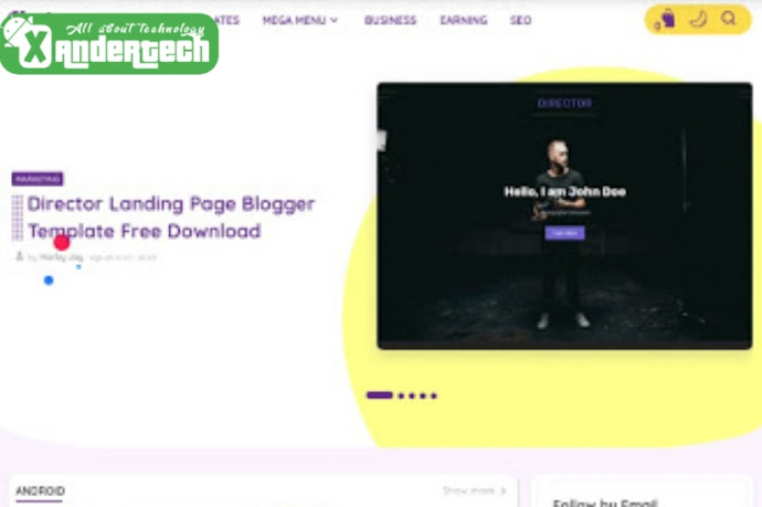 Download Hartomy New SnapNews v3 Premium Blogger Template {FREE}
