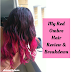 Hair Breakdown & Review || My Red Ombre Hair