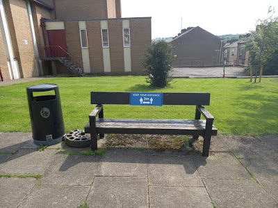 A bench in the time of Coronavirus