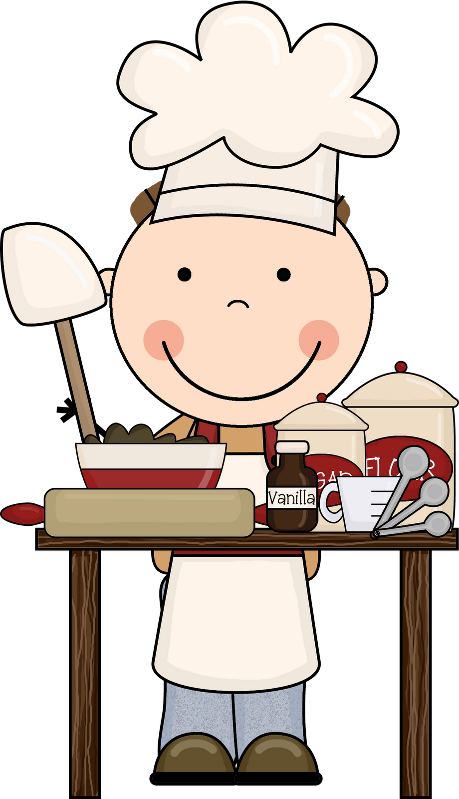 Displaying Cooking Equipment Clip Art