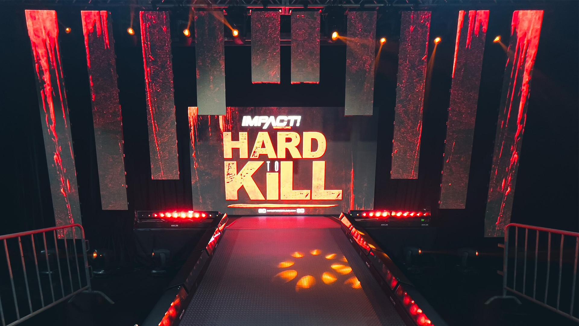 IMPACT Wrestling insere efeitos sonoros em sua arena no Hard to Kill