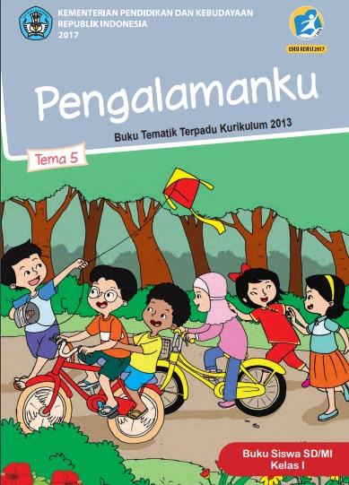 Buku Siswa Kelas 1 Tema 5 Revisi 2017 Kurikulum 2013