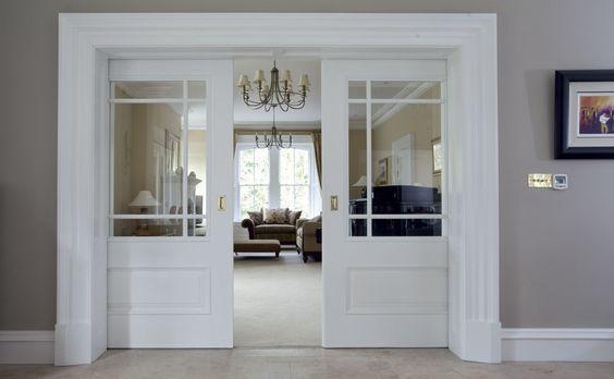 Puerta de la sala de estar moderno 60 ideas increíbles para inspirarte