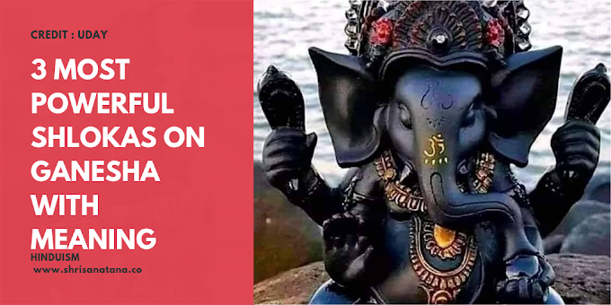 3 most powerful shlokas on Ganesha with meaning