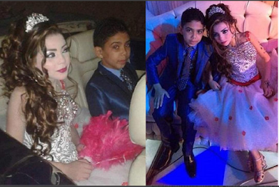 Awkward moment 12- year old boy marries his 11-year-old cousin (photos)