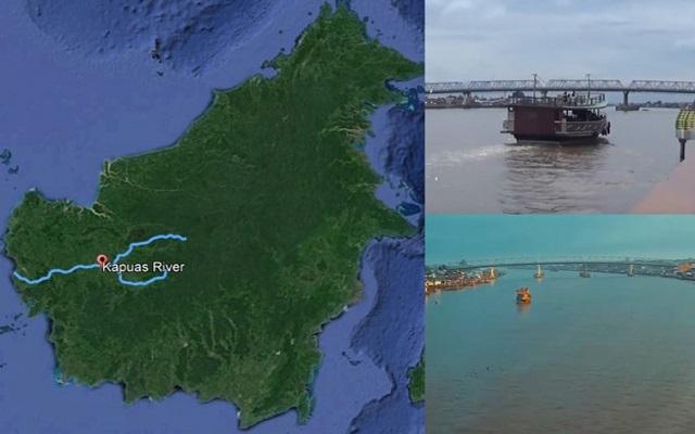 sungai paling panjang di indonesia