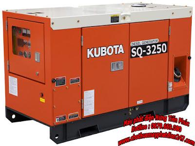 Máy phát điện Kubota 25kva SQ-3250