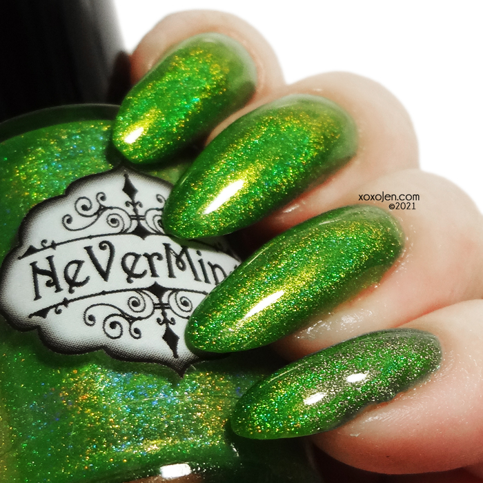xoxoJen's swatch of Nevermind Mardi Green