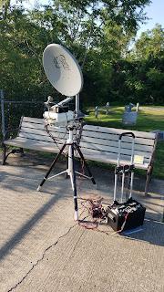 Herbert AF4JF set up for 10GHz in EM49hq