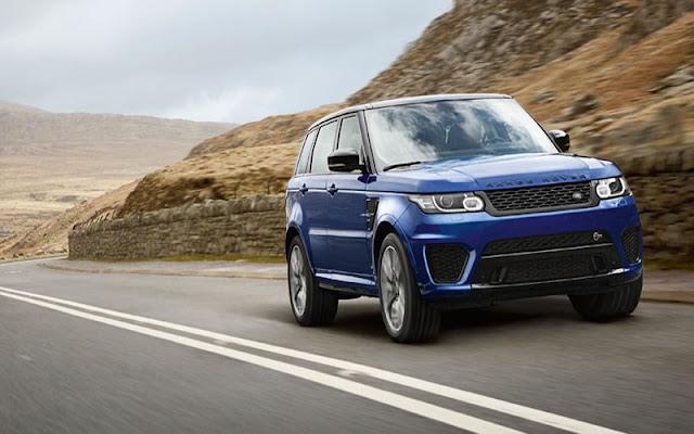 2014 Range Rover Sport SVR được định hướng là dòng hiệu suất cao hàng đầu