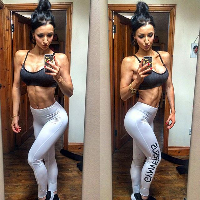 Fitness Model KADIE SMITH @kadiesmithxx Instagram photos