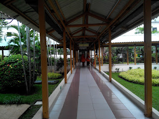 Salah satu lorong di RS. Jiwa dr. Soeharto Heerjan