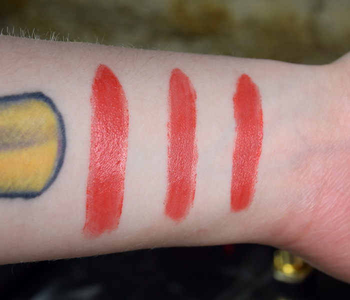 L'Oreal Gold Obsession Lipstick Swatch