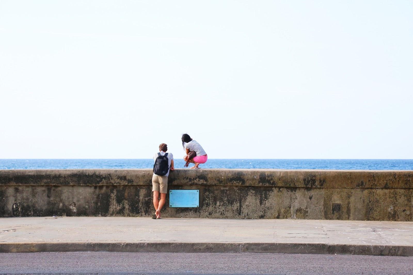 Sur le Malecon de La Havane - Cuba