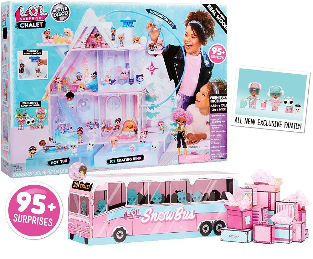 New L.O.L. Surprise dollhouse 2019 Christmas gift for girls