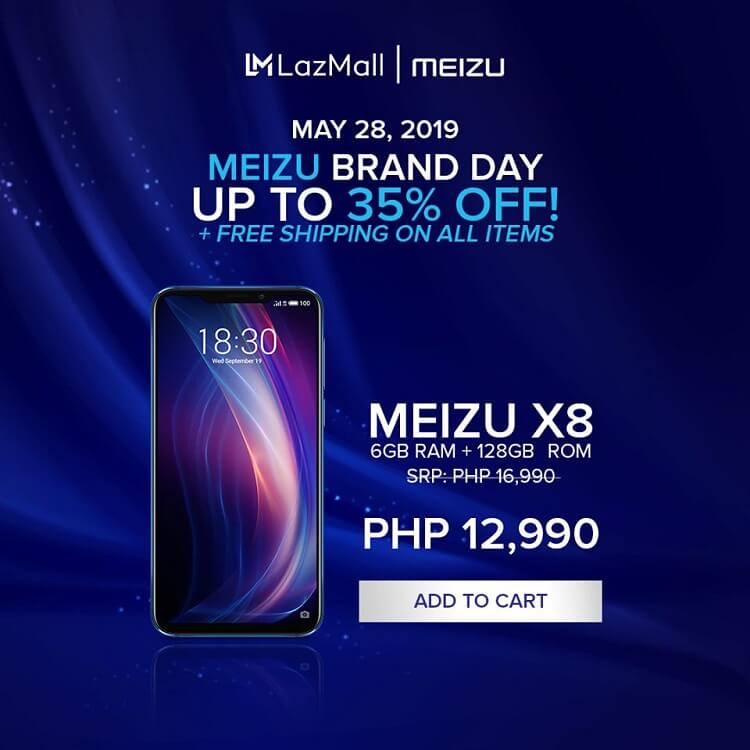 Meizu Brand Day Sale Offers up to 35% Off on Select Smartphones