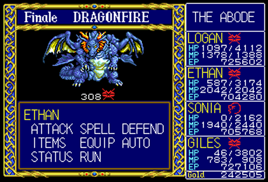 My all time favourite video games: Dragon Slayer: The Legend of