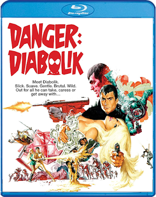 Cover art for Shout! Factory's new Blu-ray of DANGER: DIABOLIK!