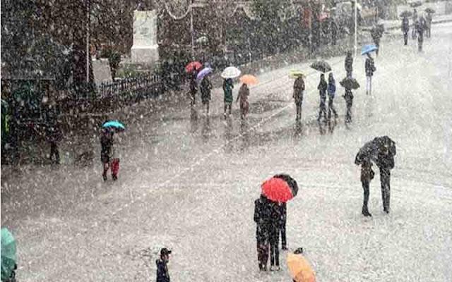 हिमाचल में एक बार फिर मौसम लेगा करवट- 6 जिलों में बारिश बर्फबारी