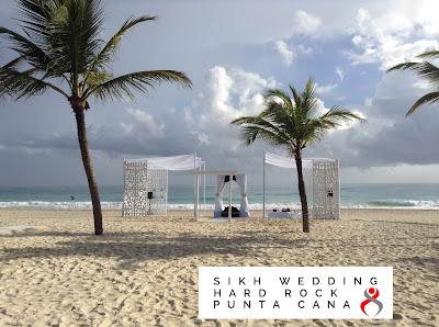 Beach Sikh Wedding Punta Cana