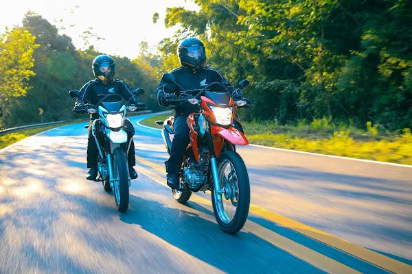 As motos mais vendidas do Brasil em agosto de 2021: parcial quinzenal