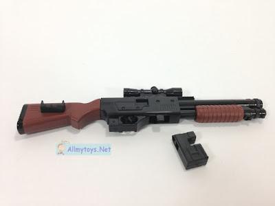 Look real toy guns shotgun 1