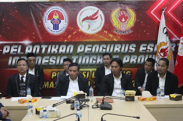 Pengurus Esports Provinsi Lampung Resmi Dilantik