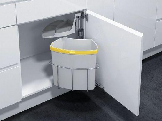 Kitchen Trash Can Size