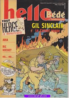 Hello-Bébé, numéro 25, 1991, Tout Hergé à Welkenraedt